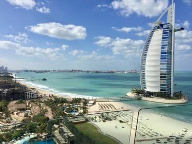 Dubai Hotels Summary: Beach Area