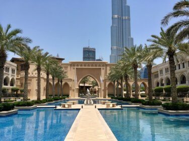 Dubai Hotel Stay Diary: Palace Downtown
