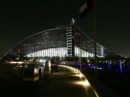 ドバイホテル滞在記:ジュメイラ・ビーチ・ホテル(その②)