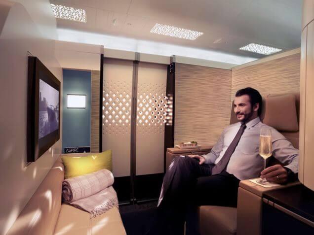 驚愕の安さ!!エティハド航空、ロンドン行きファーストクラス航空券が35万円!?