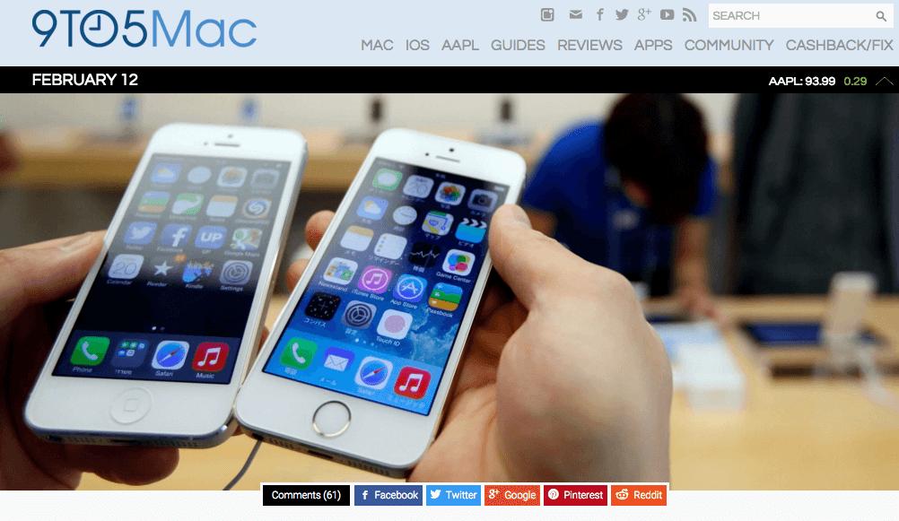 4インチ型「iPhone5se」の発売日は3月18日!?