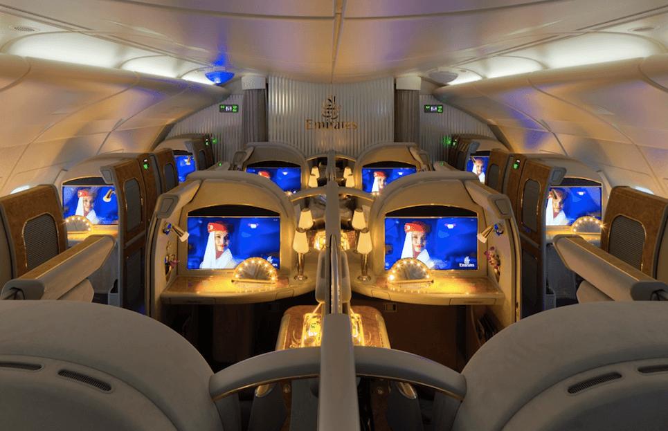 エミレーツ航空、ボーイング777の新ファーストクラスを2017年11月に発表!