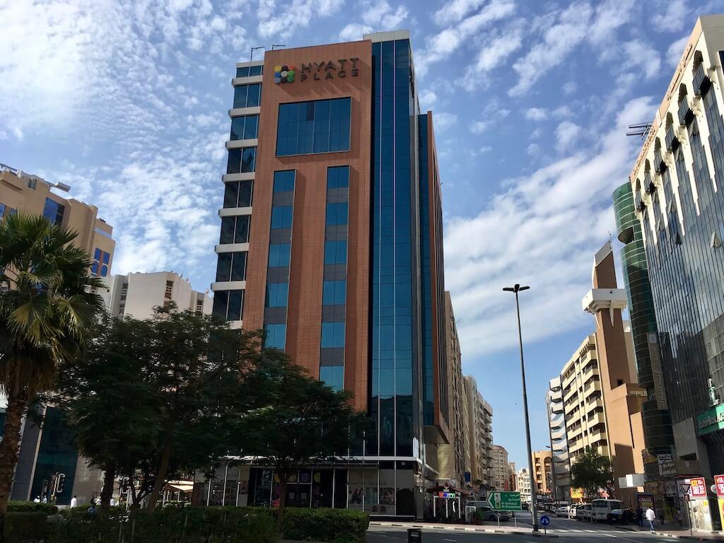 ドバイホテル滞在記:ハイアット・プレイス・ドバイ・バニーヤスクエア