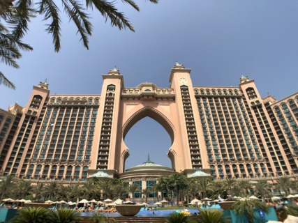 ドバイホテル滞在記:アトランティス・ザ・パーム